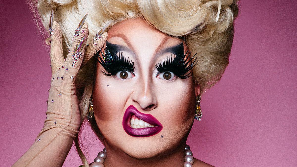 Mroczne twarze drag queens